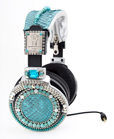 Sony Swarovski Crystal Headphones