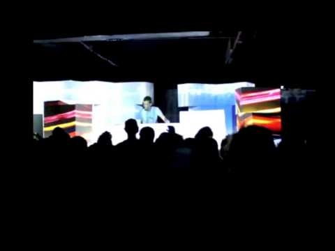 3D Projection mapping at The Assembly in Cape Town for Organic Universe