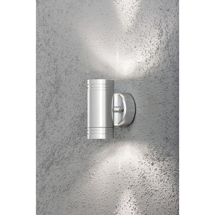 LED-wandlamp Monza Up en Down - aluminium 6 lichtbronnen