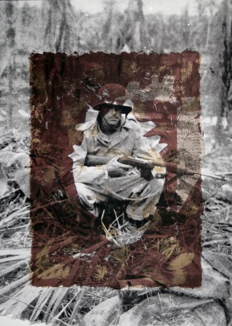 Sam Coronado,  Henry Romo,  Mixed Media, #LatinoArt #MexicanAmericanArt #serigraphy #printmaking