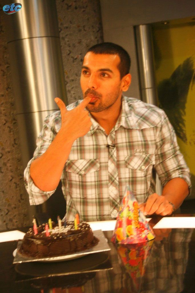 Image result for john abraham cake