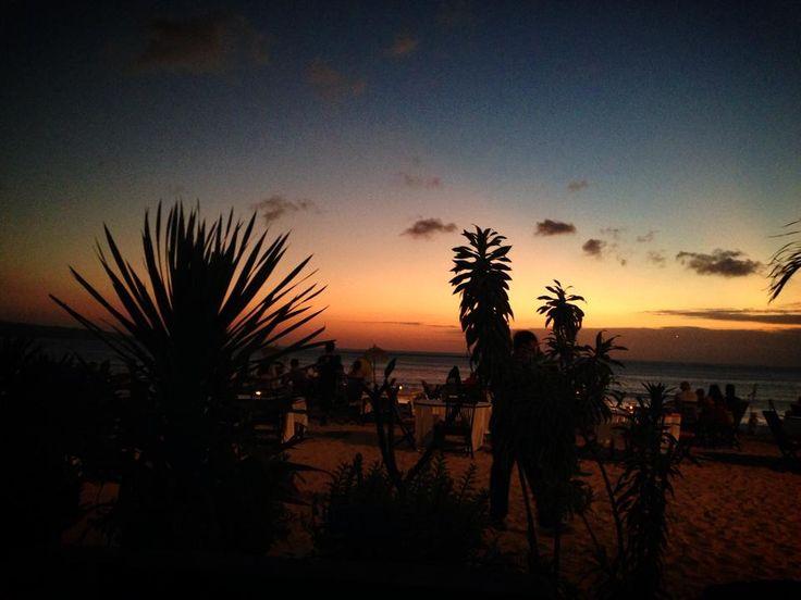 sunset in Jimbaran area...