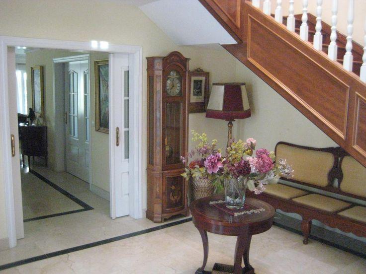 recibidor decoracin estilo vintage chalet de lujo en venta en aravaca