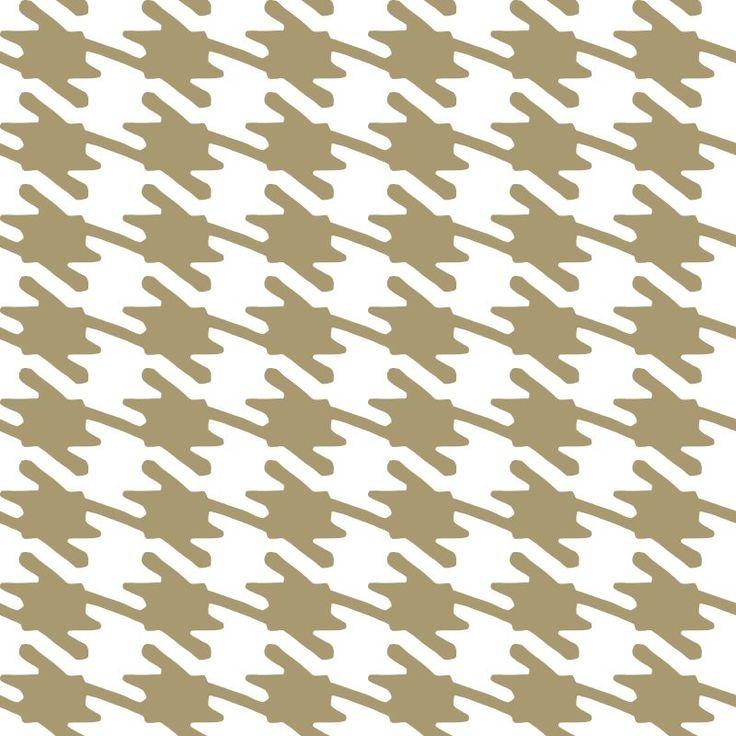 York Wallcoverings RB4264 Jackie-Oh! Wallpaper Gold Glint / White Home Decor Wallpaper Wallpaper