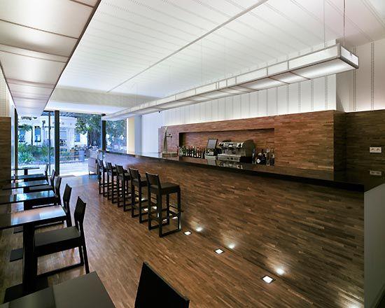 Elegant modern cafe interior lighting design ideas see - Interior design cafe milano ...
