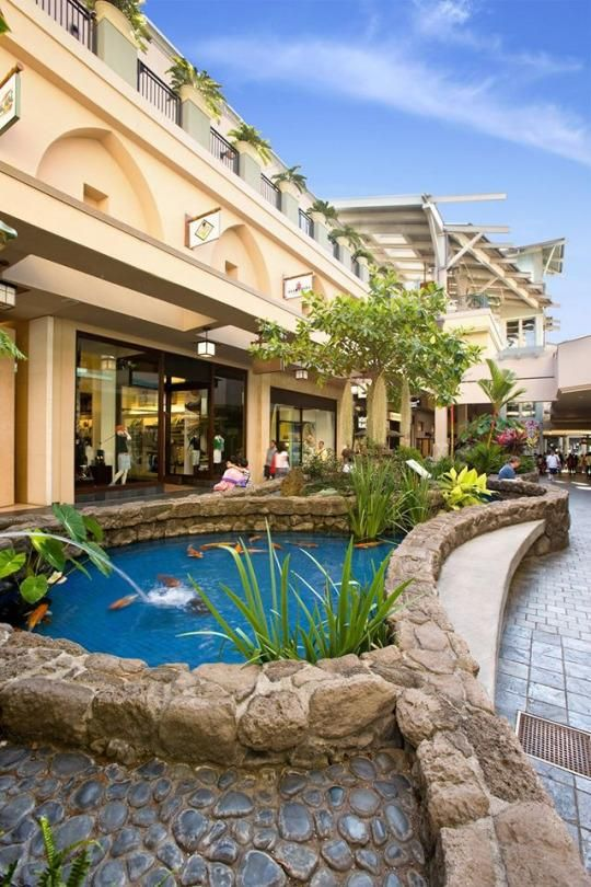 Ala Moana Shopping Center in Oahu, Hawaii is the biggest outdoor mall in the world.  It has hundreds of stores, more than 100 dining spots, and even a daily hula show.  If that wasn't enough, it's also has plans for expansion this November.