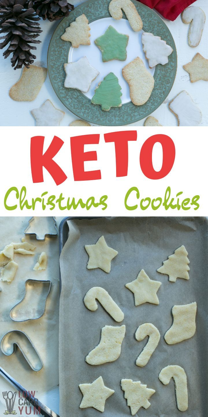 Keto sugar cookies are perfect for holidays! This is sure to become one of your favorites keto cookie recipes for Christmas.