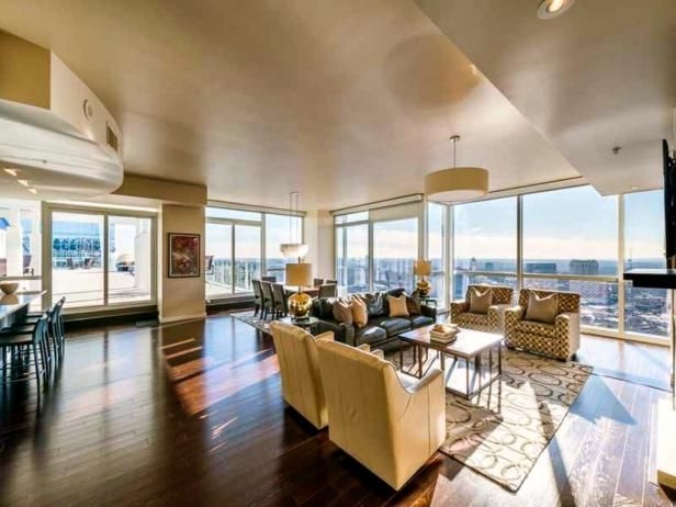 Tour the Penthouse of Atlanta Brave Dan Uggla | Celebrity Homes | HGTV