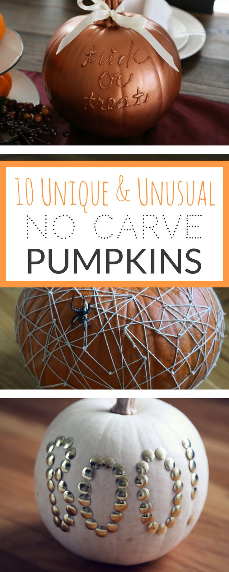 Pumpkin ideas for kids and crafty adults.