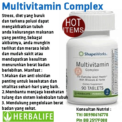Multivitamin Complex F2  Ping Me 20751C71 | sms 08989353516