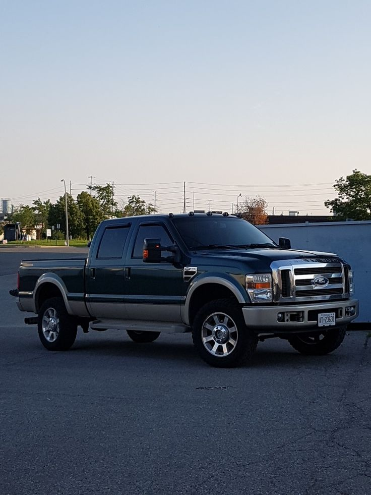 PAPA JOHNS 2008 F350 KING RANCH 6.4 POWERSTROKE NATION.