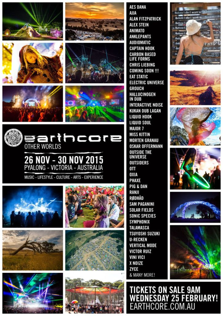 2015 earthcore poster - Google Search