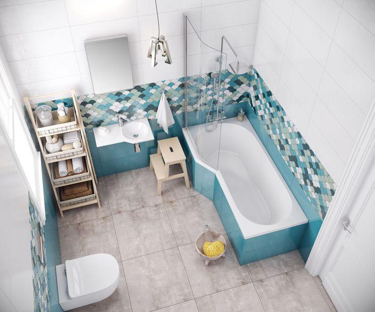 Linia wanien BE SPOT skierowana jest do klientów, którzy dysponują niewielką przestrzenią w łazience a chcą pozwolić sobie na ten relaks, który zapewniają kąpiele w wannie.