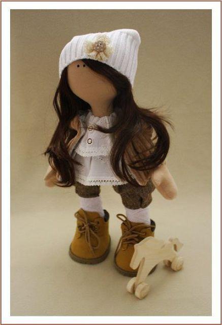 Куклы Татьяны Коннэ, фото, выкройки, мастер класс