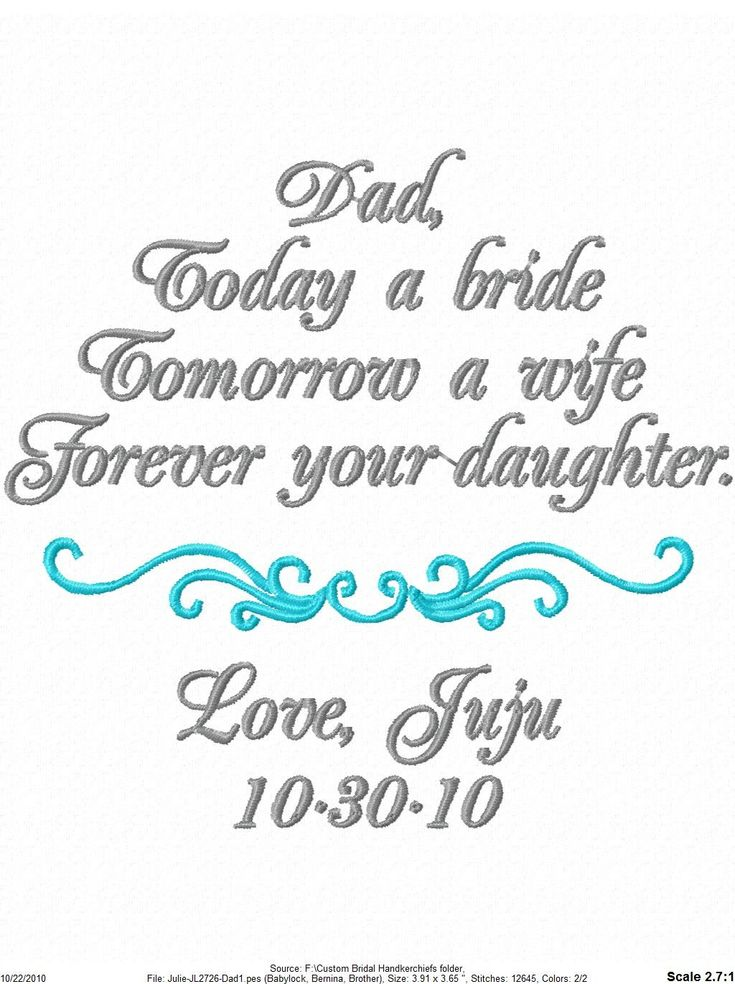 Father Of The Bride Gift Love This