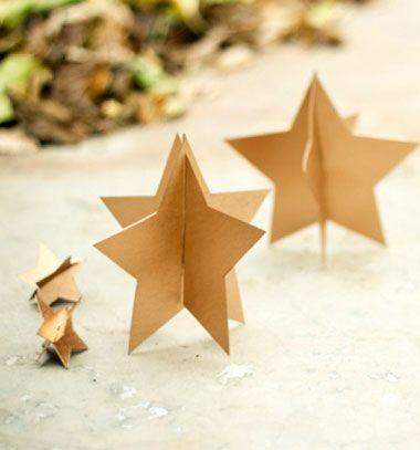 ❤ Egyszerű papír csillagok ❤Mindy -  kreatív ötletek és dekorációk minden napra