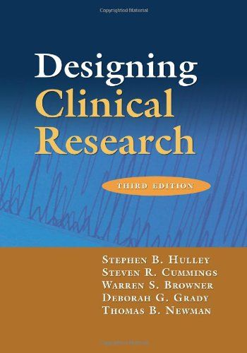 Designing Clinical Research by Stephen B. Hulley MD https://www.amazon.com/dp/0781782104/ref=cm_sw_r_pi_dp_x_mysJybW9HYV95
