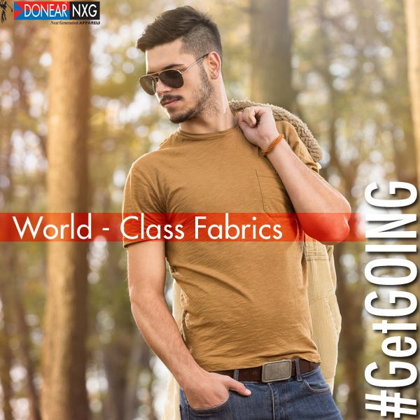 Witness world class fabrics on display only with Donear NXG  #Style #Fashion #Clothing #Men