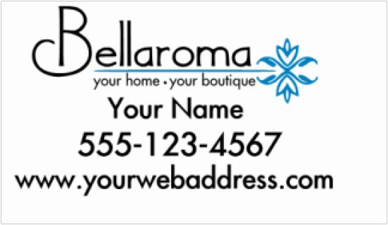 """Bellaroma Decal 12x24""""  Black part of decal is cut in white.  For custom orders email us at melissa@imagineitvinyl.ca"""