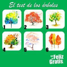 ¿Sabías que tu tipo de árbol favorito refleja aspectos importantes de tu personalidad? Mira los árboles, elige inmediatamente el que...
