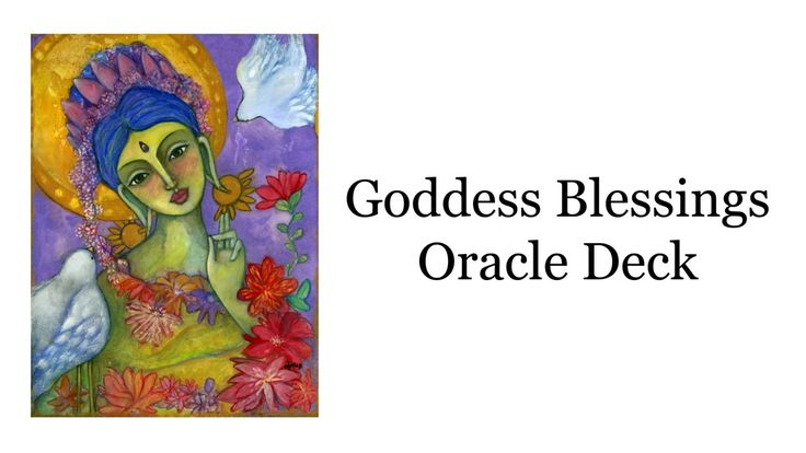 Check out our new Oracle deck on Kickstarter here! https://www.kickstarter.com/projects/claudiaolivos/goddess-blessings-oracle-deck?ref=discovery
