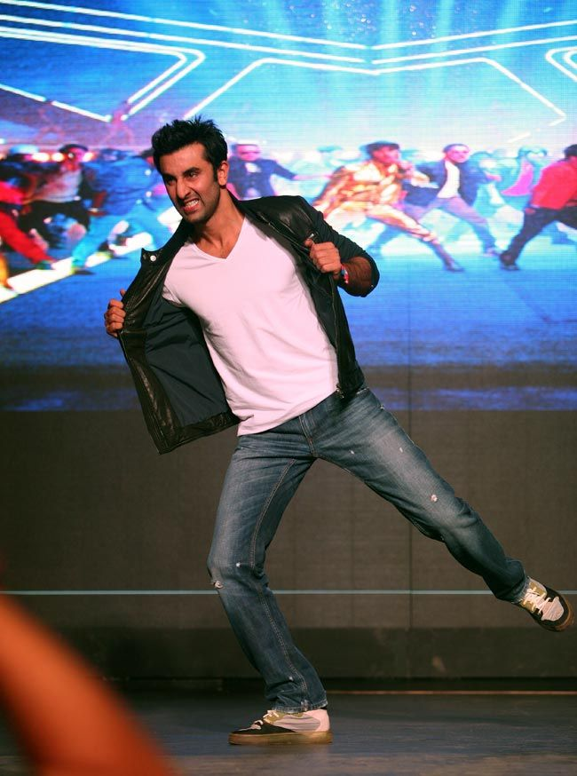 Ranbir Kapoor launching the teaser of the new song from Besharam, Aa Re Aa Re. #Bollywood #Fashion #Style