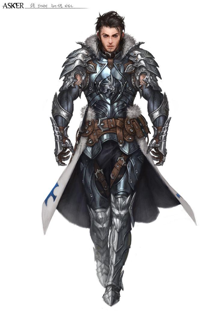 ✧ #characterconcepts ✧ ArtStation - Asker Online / Soul-breaker wolf armor, Woo Kim