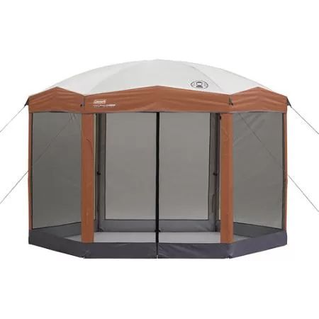 Coleman 12 By 10 Foot Hex Instant Screened Canopy/Gazebo