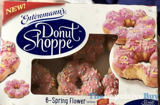 SPOTTED ON SHELVES: Entenmann's Donut Shoppe Iced Donuts