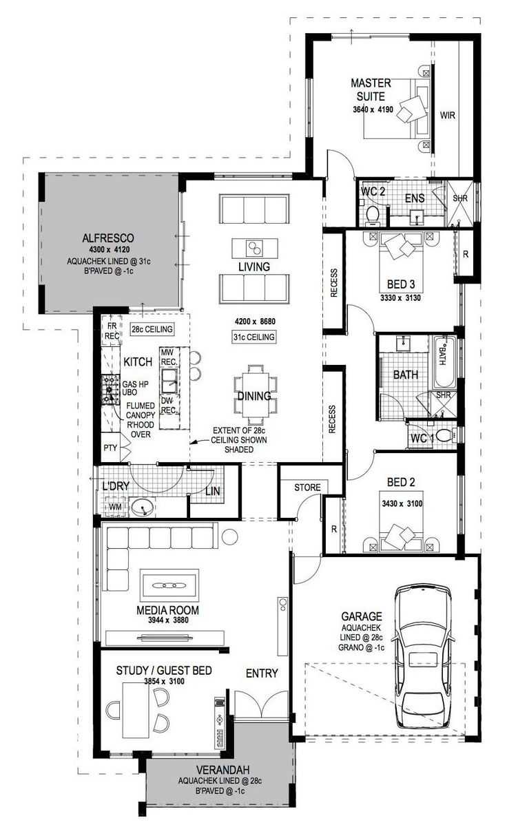 1182 best images about floorplans on pinterest small for Cottage home designs perth
