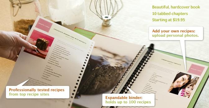 DIY: Make your own bound cookbook