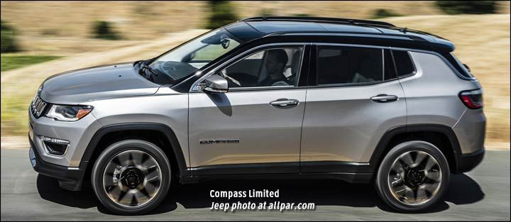 2018 Jeep Compass Colors