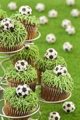Cupcakes Fußball