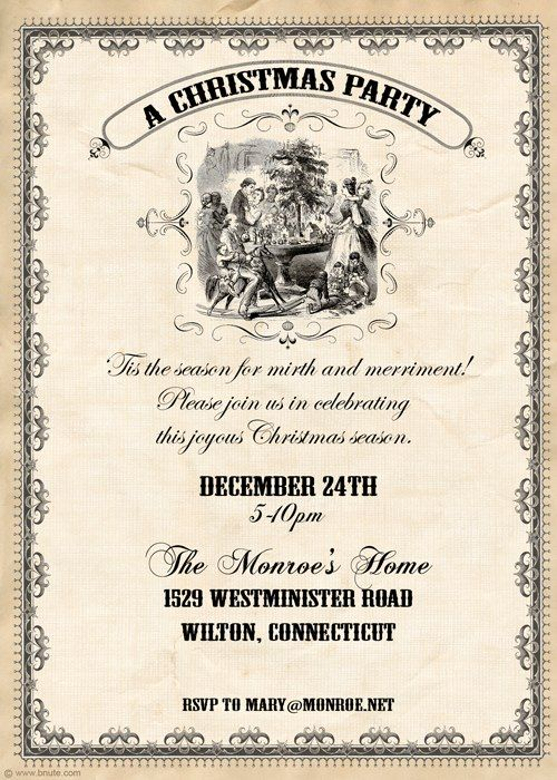 Best 25 Holiday party invitations ideas – Creative Christmas Party Invitations