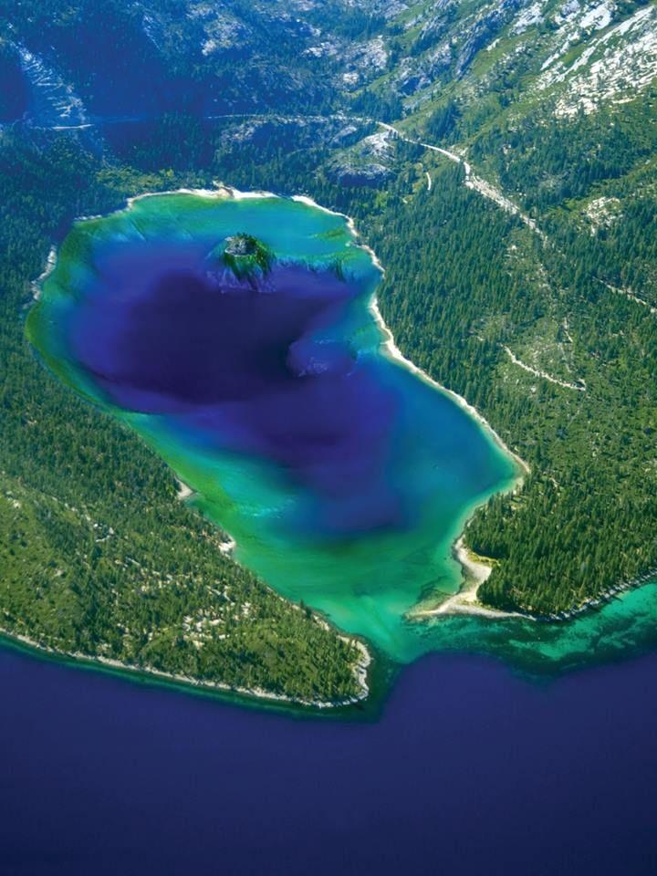 Emerald Bay , Lake Tahoe