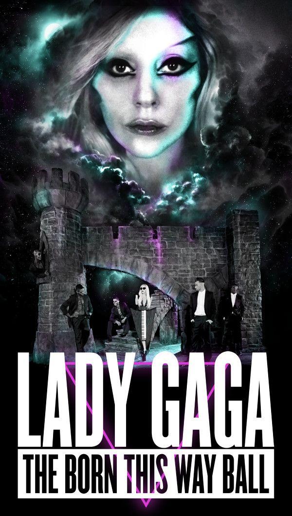 Lady Gaga divulga pôster de sua nova turnê