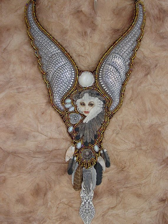 Reserved for Cyndy Laura's Angel by HeidiKummliDesigns on Etsy
