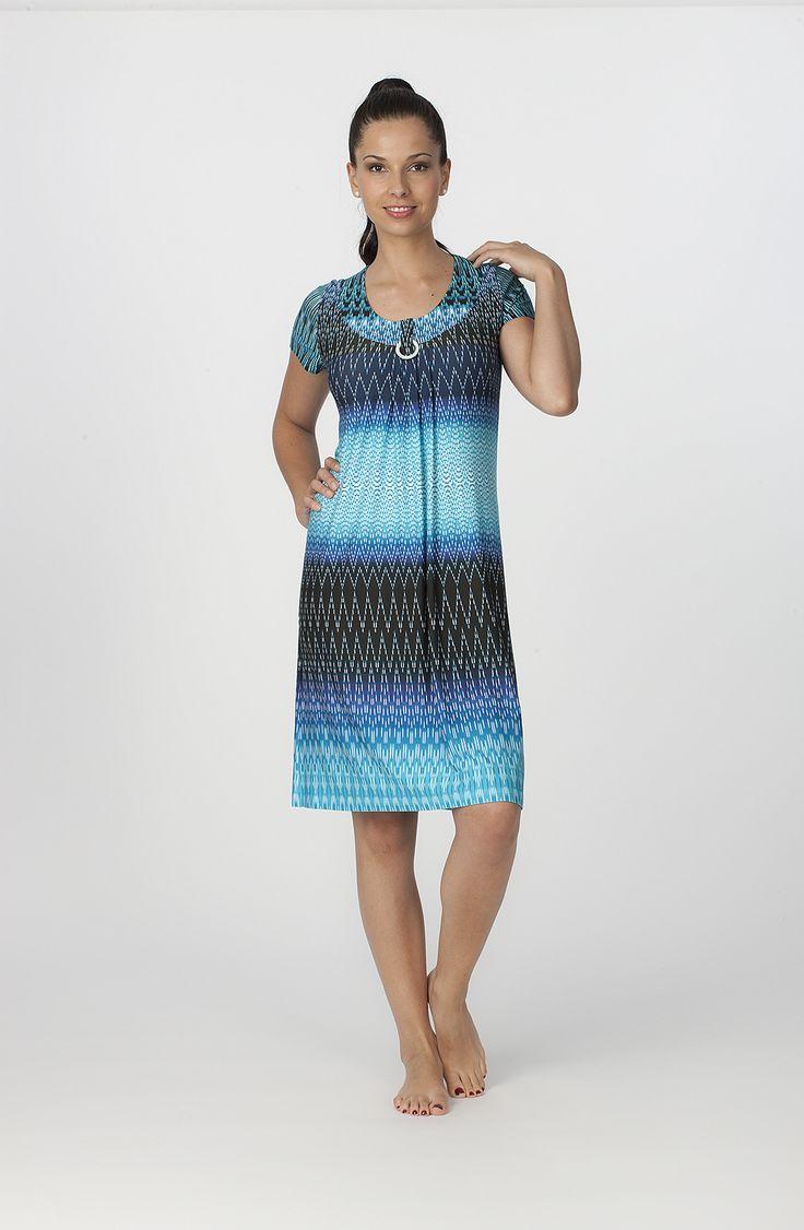 Vestido Verano Egatex modelo Ocean. http://www.perfumeriaelajuar.com/homewear/vestido-mujer--verano/34/