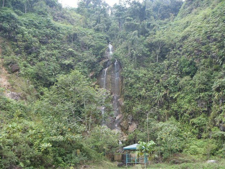 Waterfall in Bukit Tigapuluh National Park