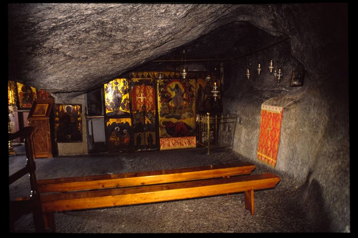 The cave where John dictated the Revelation; Yoga in Patmos ~ the small island of Apocalypse (Revelation ...