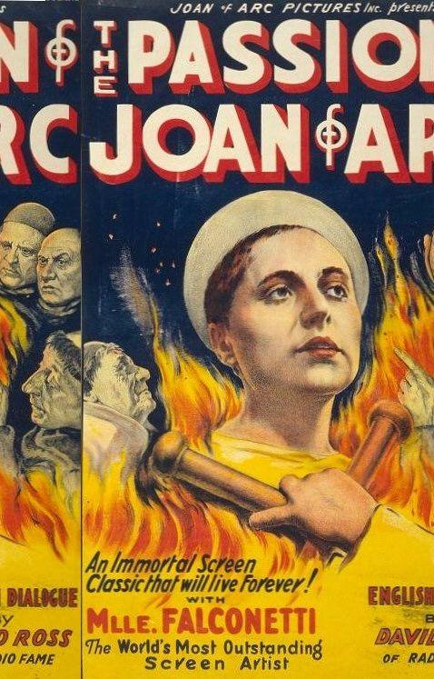 The Passion of Joan of Arc (1929)Passion De, Movie Posters, Comics Book, Arc 1928, De Jeanne, Joan Of Arc, Jeanne Darc, Film Posters, Favorite Movie