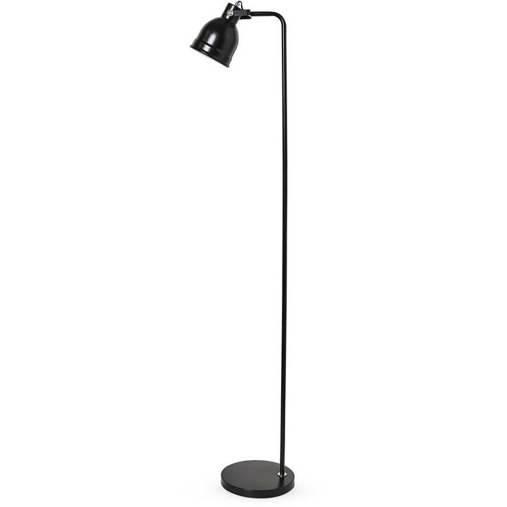 Add a contemporary feel & instantly brighten your space with the Mirabella Hendrix Floor Standing Lamp. Featuring a sleek, slimline stem with a compact metal base, with on/off switch and a edison screw cap.