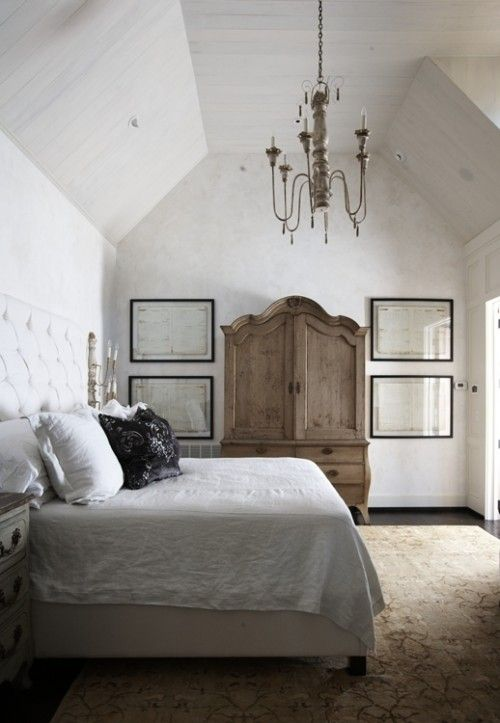 Best 149 rustic bedrooms images on pinterest home decor for Rustic elegant bedroom