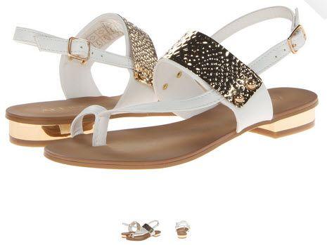 Sandale albe de vara ALDO Dolea, o frumusete! Le vreau!