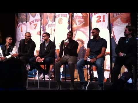 """Landry Fields singing """"I want to be a Champion"""" and Iman Shumpert rapping :D"""