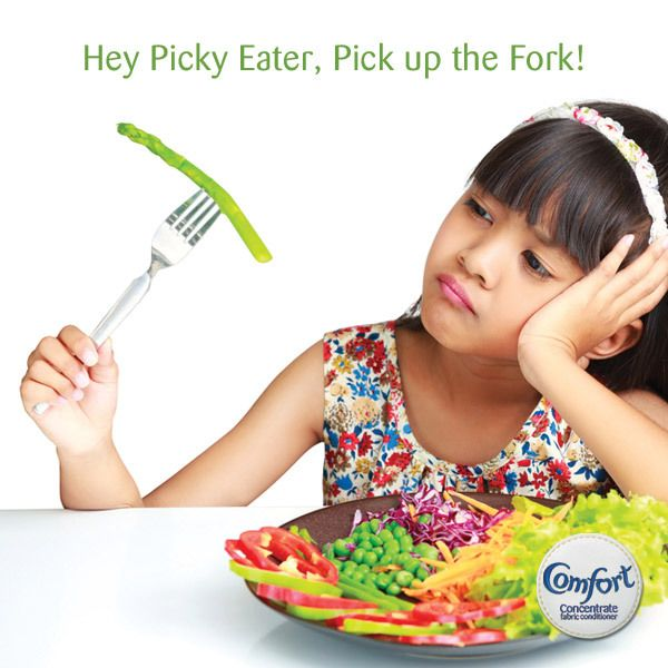 Most kids will be picky eaters at some point in their lives. Luckily there are some helpful tips and tricks to help your little one pick up their fork and finish their food > http://goo.gl/Fh50hM