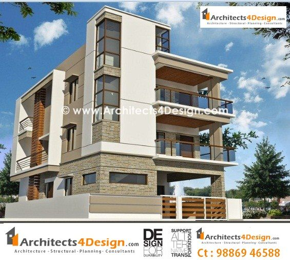 Residential Building Elevation Designs Google Search