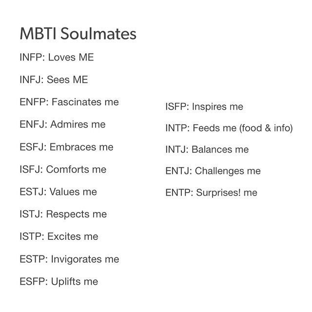 Entp and infp dating