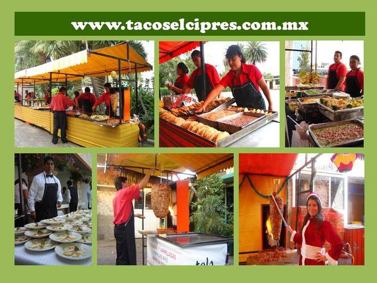 llevamos a todo el DF, estado de Méx y Morelos  Taquizas y Parrilladas a Domicilio para Fiestas www.tacoselcipres.com.mx