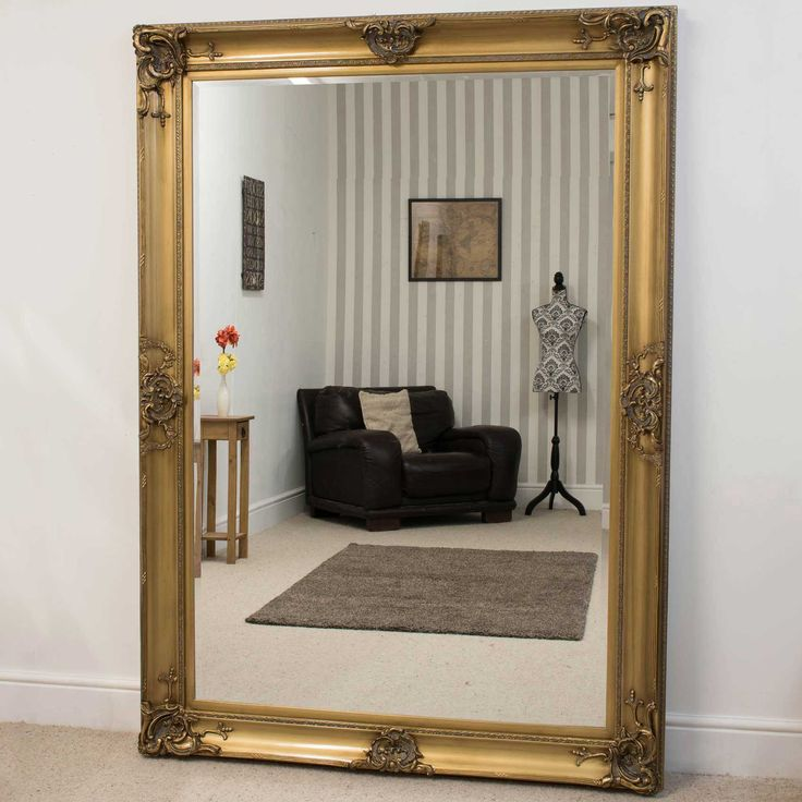 Honiton Gold Framed Mirror 213x152cm | Beautiful Gold Framed Mirror.